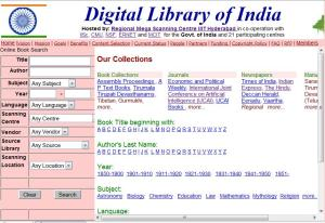 Digital Library of India